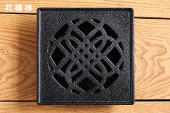 """くわな鋳物の""""蚊遣り器""""  日本の家紋を思わせるようなデザインが風情ありますね。"""