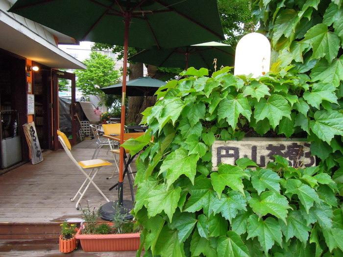 雰囲気の良いカフェが点在する円山エリア。「円山茶寮」は、レトロな趣きが魅力のお店です。