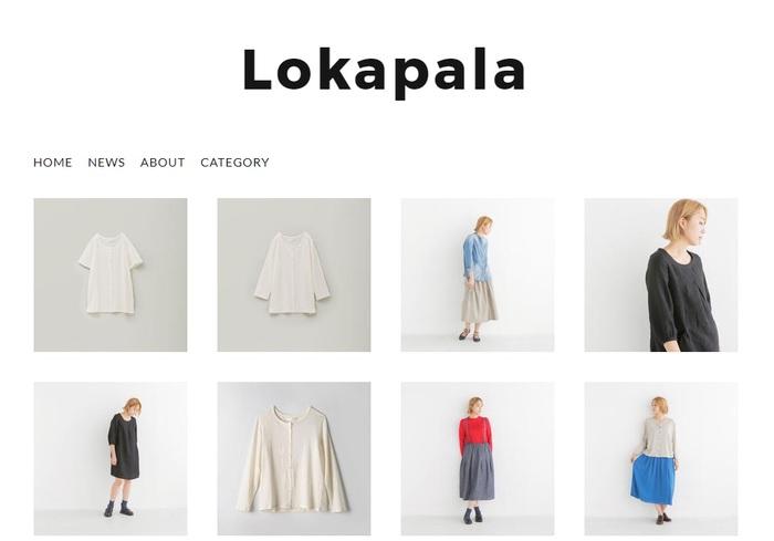 愛知県蒲郡市に本拠を置き、大手アパレルのナイトウエア製作からスタートした株式会社 ドゥラルーブジャパン。「Lokapala」は、自分たちの着たいふだん着を作りたい、との社員の声から、2007年、自社ブランドとしてスタートしました。