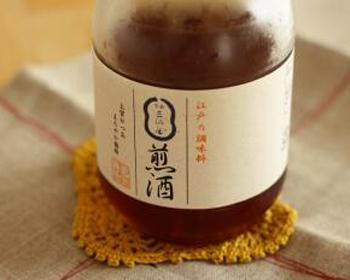 じわじわと広まりつつある、万能調味料「煎り酒」。室町~江戸時代は一般的に使われていたもので、お醤油が普及してからは使われなくなってしまったそう。