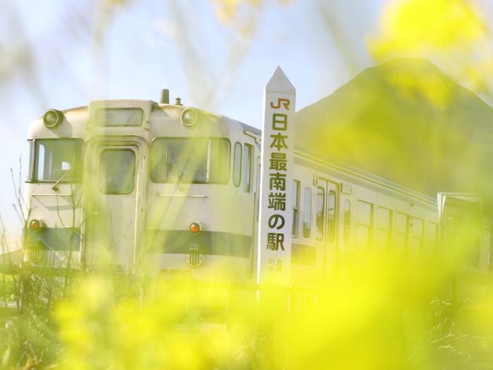 JR最南端の駅として知られる西大山駅は、1960年に開業された駅で、鹿児島県鹿児島中央駅と枕埼駅を結ぶ指宿枕崎線沿線の無人駅です。