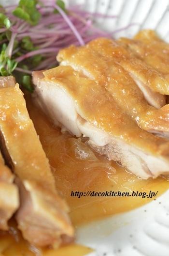 ジンジャーシロップやジンジャーエールが余ってしまったら、メインのおかずに。お肉が柔らかくなって、生姜の風味がプラスされ、よりおいしくなりますよ!
