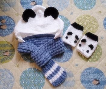 柔らかい仕上がりになるので、ガーター編みではちょっと仕上がりが固いかも…という方にオススメです。