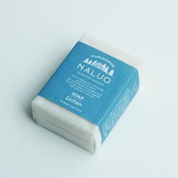 ■ソープ ライケン  Tゾーン・Uゾーンも乾燥が原因でオイリーになってしまうことも。天然植物由来の石鹸で、お肌に潤いを残しつつ、やさしく汚れを洗い落とすのがおすすめです。