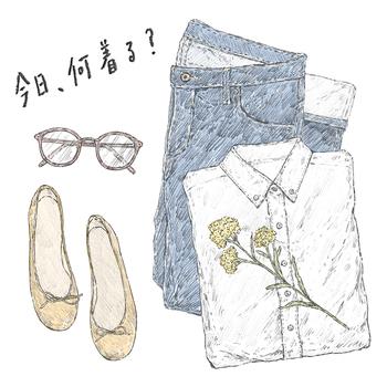 【今日、何着る?】では、その日おすすめのファッション記事を日替わりで配信中。毎日のコーディネートの参考にどうぞ◎