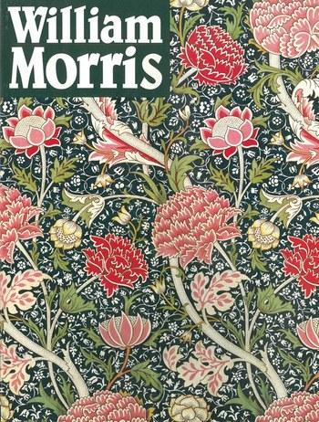 ロマンチックで美しい壁紙デザインで知られる、ウィリアム・モリスの図録で、1997年に刊行された本です。この表紙を見ているだけでも、その美しさにため息が出そうですね。
