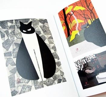 竹久夢二など日本を代表する版画家をはじめ、どれも素晴らしい木版画に思わずため息が出てしまいそうです。題名の通り、まさに「魅惑」の作品集です。