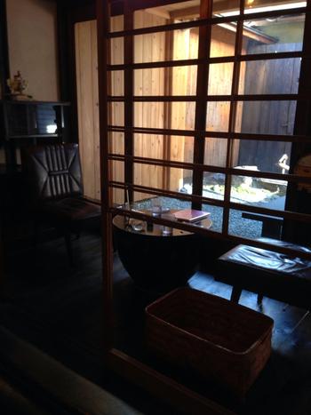Engawa Cafeは京老舗のお麩屋さんが営むカフェです。 もちろんメニューにはお麩が豊富。