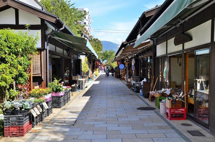 古民家や大正ロマン風の洋館をリノベーションした建物は、眺めているだけで歴史散策が楽しめます。江戸時代から工芸家の集まる街だった松本市は、素敵なクラフトショップもたくさん。お土産探しも楽しみたい女子旅にピッタリなんです。
