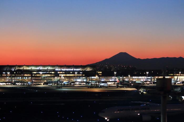 夜の空港の煌めきも素敵ですが、なんと「羽田空港」内にプラネタリウムがあるなんて知っていましたか?カフェと融合しており、飲食をしながら星空を眺めることができるんです。プログラムのバリエーションもさまざまで、リピート必至です。