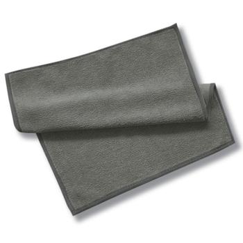 スウェーデン生まれのMQ・Duotex(ポリエステル86%、ナイロン14%)。油汚れや水垢を落とすニット面と、窓やステンレスなどの金属をピカピカに磨きあげるテックス面とのリバーシブル仕様。キッチンだけでなく、布張りソファや照明の汚れにも対応してくれます。 シックなグレーは、モノトーン好きのお部屋に。