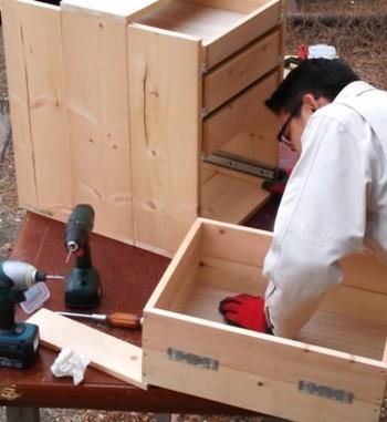 DIYといっても、大きい家具は本格的な作業が必要ですが、ひとつひとつ組み立てることで、子どもへの世界でたった1つの素敵なプレゼントになりますね♪