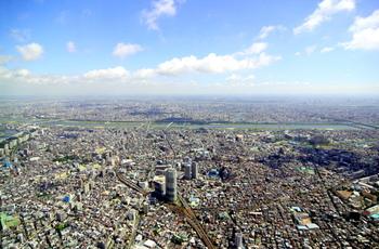 眼下には下町の街並み、遠くに目を馳せれば隅田川やお台場、東京タワーなどが見渡せます。  普段は気づかない都心の緑や四季の移り変わりを感じることもできるんですよ。  週末や夏休みなどは混雑するので、ゆったり景色を堪能したい方は平日の午前中がおすすめです。