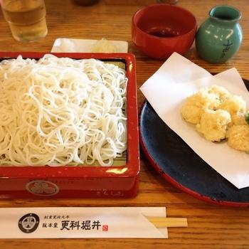 天ぷらなどの料理とも相性がよく、喉ごしの良さや上品な香りを楽しめます。
