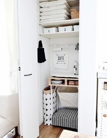 ソフトボックスは洗濯やおもちゃなど、いったんしまっておきたい時などに大活躍◎ 場所を選ばずお部屋をキレイ&おしゃれに目隠しできる優れものです。