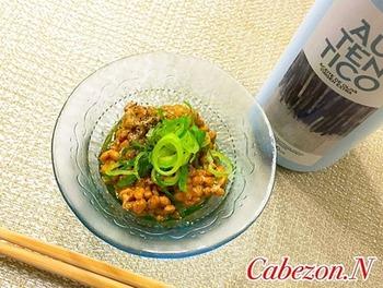 醤油ではなく、オリーブオイルを使うことでちょっぴり洋風な不思議な納豆料理に早変わり。 納豆が苦手な方も試してみる価値があるかも!