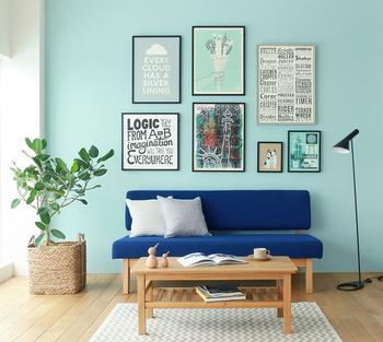 その鮮やかで可愛らしい姿は、ポップな雰囲気のインテリアにもよく似合います。グリーンカラーのインテリアのひとつとして、部屋をカラーコーディネートしてみてはいかがですか?