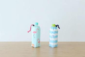 ひんやりが長続きする保冷タイプのペットボトルホルダーも手作りしましょう。巾着袋の作り方を少しアレンジするだけで簡単にできてしまいます。
