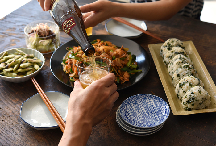 【連載】冨田ただすけさんの「旬の献立」 Vol.9-ビールが美味い!パパも喜ぶ、絶品『豚キムチ』
