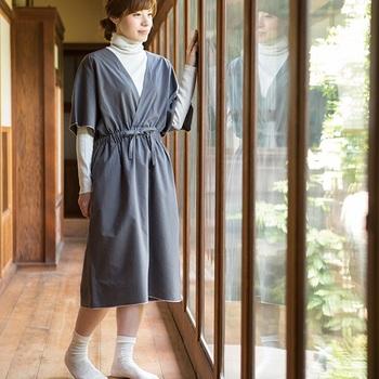 1枚の生地から無駄なく作る。中川政七商店「直線裁ちの服」