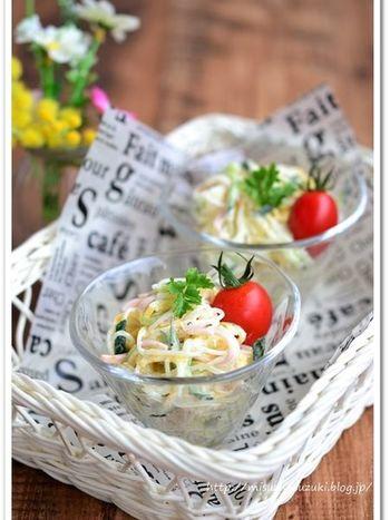 マヨネーズを使ったレシピは給食の定番。 簡単レシピなので、もうなにか一品欲しいときにもおすすめです。