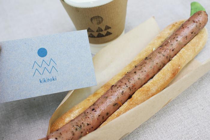 写真屋さんをリメイクした北海道・興部町カフェ、「キキトキ」も出展。地元の食材を使った素朴なおいしさが味わえます。  ※筆者撮影