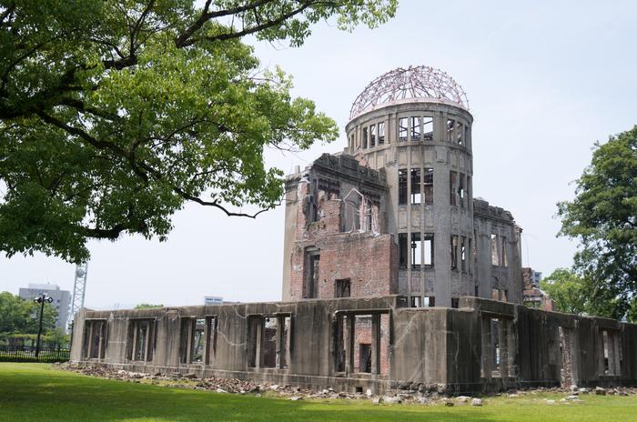 核兵器の恐ろしさを今に伝える原爆ドームは必見。平和を願うシンボルとして、世界遺産にも登録されています。