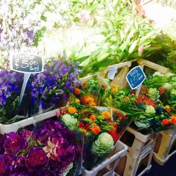 お花を売る露店は、どこを切り取っても絵になる上、コロンビアロードには、可愛い雑貨屋さんも立ち並んでいます。
