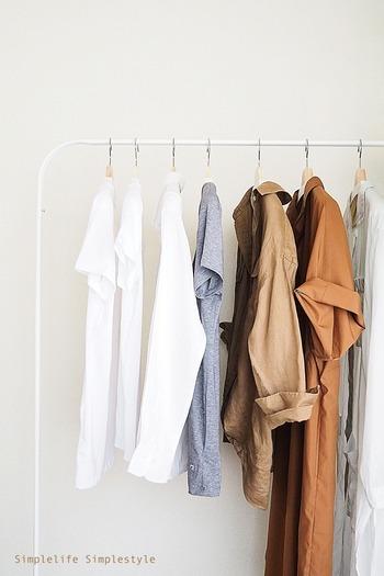 セールなどでついつい衝動買いをしてしまう洋服は、シーズンが始まる前に見直しをして、計画を立てて購入するのがおすすめです。少ない洋服でも着回しができるようにするとなおベターですね。