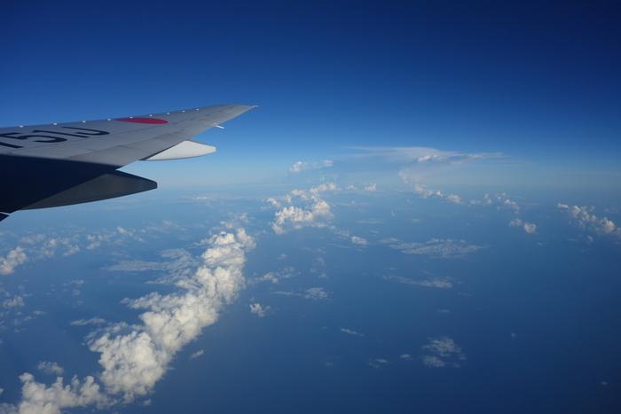 日本からのキプロスへの直行便はないため、ヨーロッパの各都市から乗り換えになります。