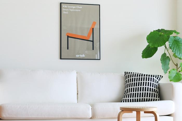 「お部屋が物足りない...」そんなときはポスターを飾ってみてはいかがでしょう?白を基調としたシンプルなインテリアも、ポスターを飾るだけで素敵なアクセントに♪
