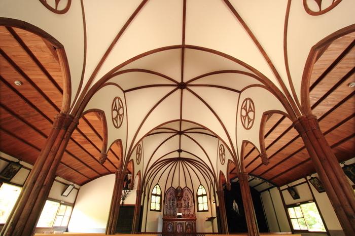 パウロ教会堂の内部も凝った造りなので見学を忘れずにどうぞ♪