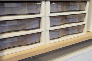 物が多くてキッチンでは収まりきらない方におすすめの収納方法がこちら!文具ケースをカトラリー収納に利用します。