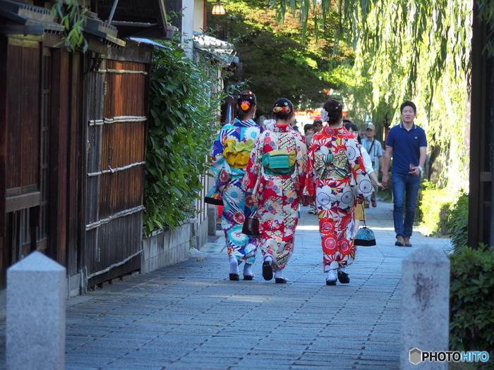 いかがでしたか? 一日たっぷりと京都を満喫できるプランです。 着物を着て周ることで見えてくる、新しい京都を探しに、是非紅葉狩りにいらして下さい。