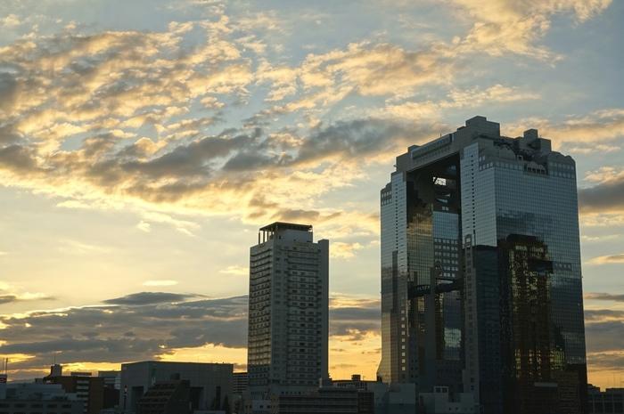 大阪駅を中心とするエリアで、百貨店や飲食店などがひしめく繁華街「梅田」。大阪を代表する街であるのはもちろん、西日本最大の繁華街としてもよく知られている一帯です。