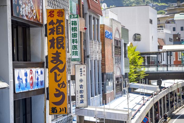 箱根湯本は、歴史と温泉が融合したエリア。ゆったりと観光したい方にはおすすめのスポットです。