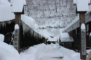 十和田・八幡平国立公園の乳頭山麓に点在する七湯が「乳頭温泉郷」と呼ばれています。ぶなの原生林が広がっているこの地は、空気がとっても澄んでいます。自然いっぱいの中、温泉を堪能できますよ。
