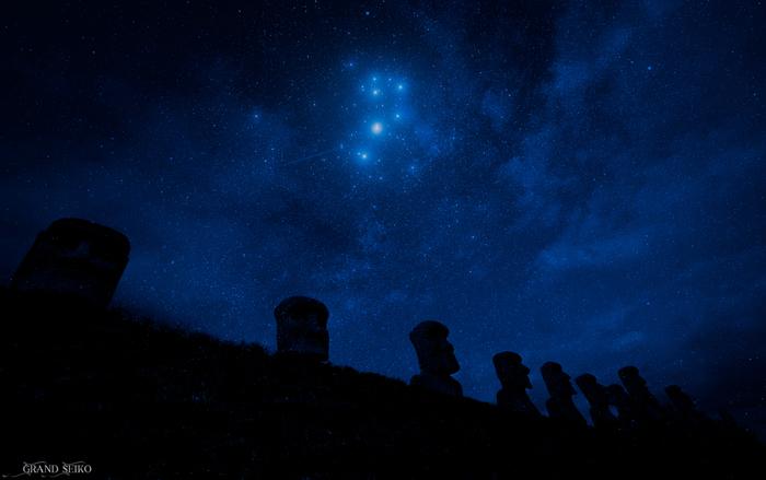 日本では「すばる」の呼び名で知られ、歌などでも有名なプレアデス星団は、おうし座の散開星団です。