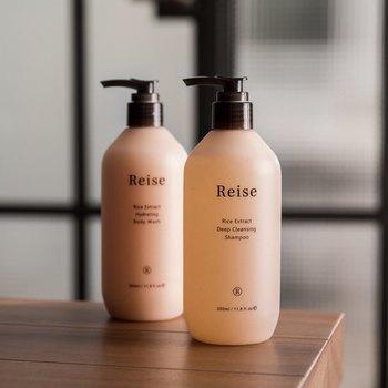 石けんで洗うと毛がパサついてしまうのでシャンプーを使いましょう。天然の毛を使っているブラシにはとくにシャンプーがおすすめです。
