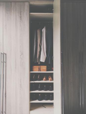 洋服が少なくなれば、まるでお店のようなオシャレで使いやすいクローゼットになります。