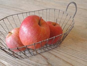 おすすめは、キッチン周り。フルーツや小分けのお菓子を入れて、そのままテーブルの上においてもおしゃれですね。
