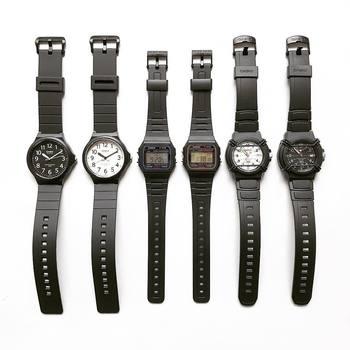 昔『G-SHOCK』を持っていたという方や、今も『チープカシオ』を愛用していらっしゃる方も多くいらっしゃるのではないでしょうか?プチプラなラインもありますが、時計メーカーということで安心できるのがいいですね。