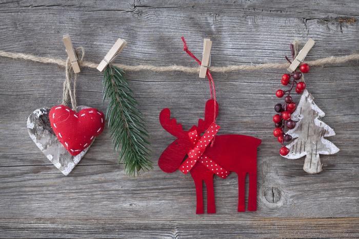 トナカイと言っても色や形で随分と雰囲気が変わりますね。ハートやもみの木と合わせるとよりクリスマスを演出できます。