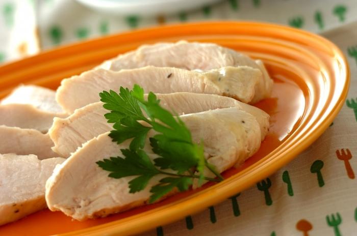 茹で 方 鶏 胸 肉