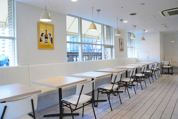 「カフェ&レストラン Bshop CANTEEN」「家族亭 神戸朝日ビル店」で半券を見せると、お食事代10% OFF(当日のみ)になるサービスがあるので、映画鑑賞後にぜひ。