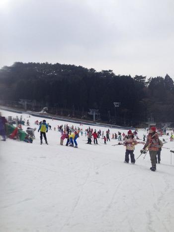 冬には人工スキー場も開設される六甲山。レジャー施設が色々あるだけでなく、例えば夏には「真夏の雪まつり」という雪遊びイベント、秋には「六甲ミーツ・アート」という現代アートのイベントが行われるなど、四季折々で様々な楽しみがあります。