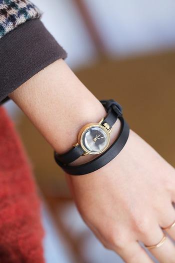 洋服や靴を選ぶように、自分に合った時計を見つけられるようにという願いが込められたネジコミュの腕時計は、オシャレのトータルコーデ力を上げてくれるセンスの良さが光ります。