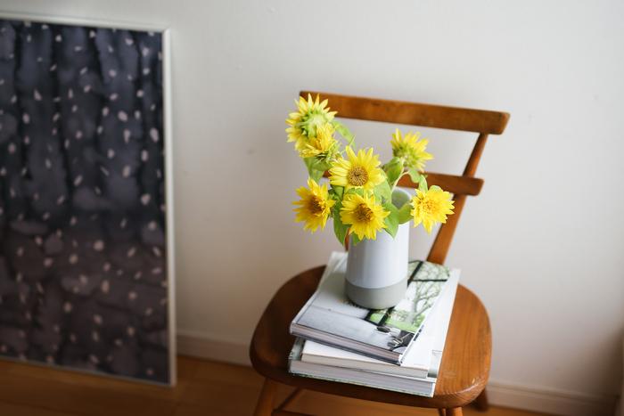 【連載】『霽れと褻』代表・田中さんに教わる「花ごよみ」vol.3-ヒマワリ