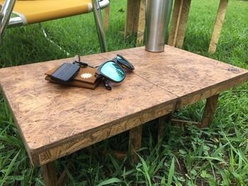 【木製 折りたたみ ミニテーブル サイドテーブル 机】 https://www.creema.jp/item/2236376/detail