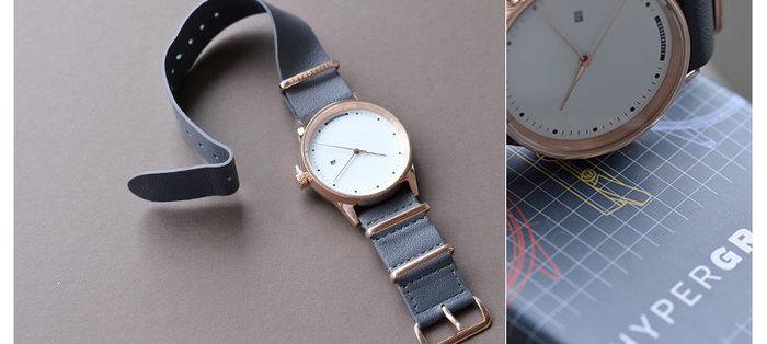 """ファッションに合わせて時計も着替えようという理念を持った「HYPER GRAND(ハイパーグランド)」のアナログウォッチ""""Maverick""""。"""